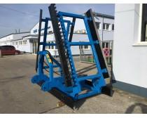 LEKO 7 m függesztett fogazott simító, hidraulikus, 2 soros